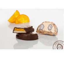 Конфеты Марципан с апельсином в шоколаде