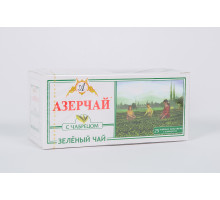 Азерчай зеленый с чабрецом 25 пакет.
