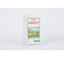 Азерчай чай зеленый 25 пакет.